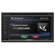 "Central Multimídia Automotiva Pósitron 6 "" SP8520BT Touchscreen Bluetooth"