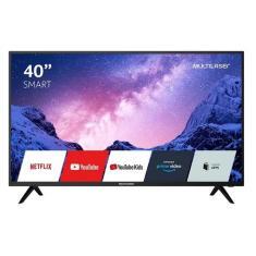 "Smart TV LED 40"" Multilaser Full HD TL030 2 HDMI"