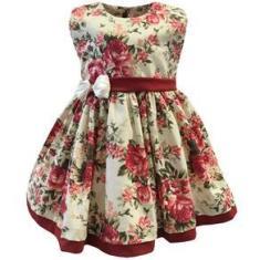 Imagem de Vestido de Bebê Chic Floral