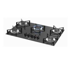 Cooktop Fischer 1642-6985 5 Bocas Acendimento Superautomático