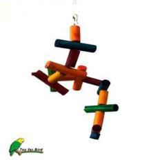 Caracol Colorido Pássaros Toy For Bird
