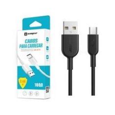 Cabo USB Original Sumexr 1M 2.4A V8 Para Samsung J2 Pro, J5 Pro, J7 Pro