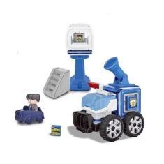 Imagem de Brinquedo de Montar Formagnéticos Policia da Dican
