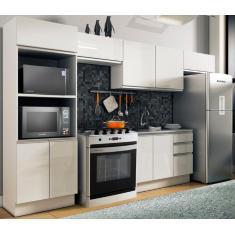 Imagem de Cozinha Completa 2 Gavetas 10 Portas Acordes Glamy Madesa
