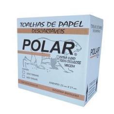 Imagem de Papel Toalha 2 Dobras 23X21 Celulose Caixa Com 4800 Folhas - Polar