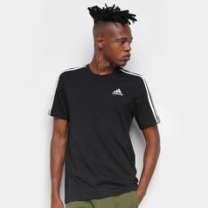 Imagem de Camiseta Adidas Essentials 3 Listras Masculina