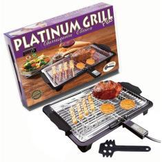 Imagem de Churrasqueira Elétrica Anurb Platinum Grill Plus
