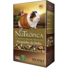 Imagem de Ração Nutrópica Com Legumes E Frutas Para Porquinho Da Índia Muesli - 500 G