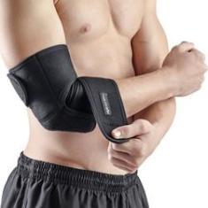 Imagem de Cotoveleira Ajustável Protetor Tendinite Epicondilite Dor Melhora Estabilidade Da Articulação Suporte