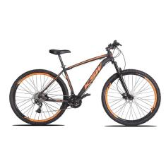 Bicicleta Mountain Bike KSW 27 Marchas Aro 29 Suspensão Dianteira Freio a Disco Hidráulico XLT Alivio