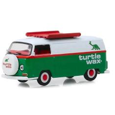 Imagem de Miniatura - Running on Empty Series 9 - 1964 Nissan Patrol Caltex - 1/64 - Greenlight - 72 VW TYPE 2 TURTLE WAX