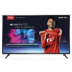 "Smart TV TV LED 55"" TCL 4K HDR Netflix 55P65US 3 HDMI"