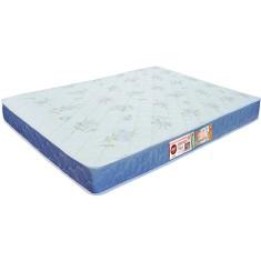 Colchão Casal Espuma Castor D45 Sleep Max D45 Selado 138 x 18 x 188 cm