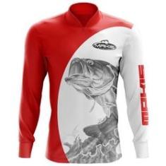 Imagem de Camisa De Pesca Proteção Solar Uv50 Makis Fishing MK-04