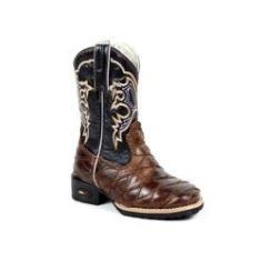 Imagem de Bota Mr West Boots Kids Escamada Bico Quadrado