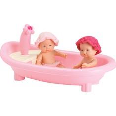 Imagem de Boneca Jensen Micro Bebê Banho Roma Brinquedos