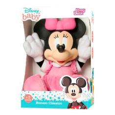 Imagem de Boneca Baby Minnie Fofinha Disney - Rosita
