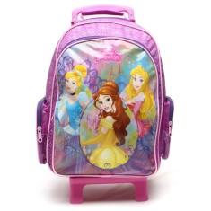 Imagem de Mochila com Rodinhas Escolar Dermiwil Princesas da Disney G 37209