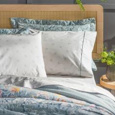 Imagem de jogo de cama casal artex total mix clean 180 fios 100% algodão gil