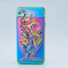Imagem de Pulsed Arc Isqueiro Isqueiro USB cigarro elétrico duplo arco de plasma Lighter