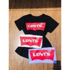 Imagem de Tshirt levi's camisa feminina coleção nova moda