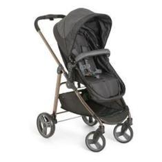 Imagem de Carrinho de Bebê Berço, Passeio e Moises Olympus Black Até 15 Kg - Galzerano
