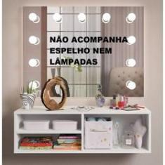 Imagem de Penteadeira Camarim Juvenil Suspensa Porta Maquiagem