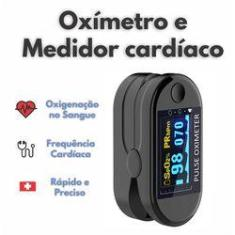 Oximetro de Dedo - SpO2 - Oximetria, Preto, Digital- GigaMedical