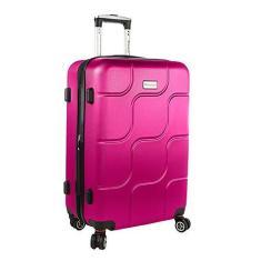 Imagem de Mala viagem Primicia ABS Giro 360° Média - Pink