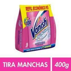 Imagem de Vanish Oxi Action Tira Manchas em Pó Refil Econômico 400g