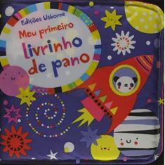 Meu Primeiro Livrinho De Pano - Azul - Editora Nobel - 9781409586326