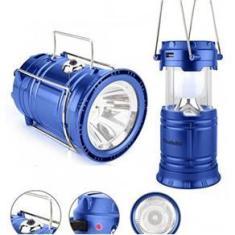 Imagem de Lampião Solar Luminária Recarregável Usb Lanterna Barraca