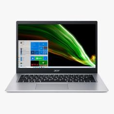 """Imagem de Notebook Acer Aspire 5 Intel Core i3 1115G4 11ª Geração 4GB de RAM SSD 256 GB 14"""" Full HD Windows 10 A514-54-354R"""