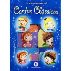 Contos Clássicos - Caixa Com 6 Livros Cartonados - Ciranda Cultural - 9788538039600