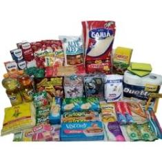 Imagem de Cesta Básica Alimentos Essencial Com 10 itens