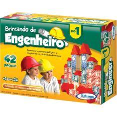 Imagem de Brincando de Engenheiro 1 - Madeira - Xalingo