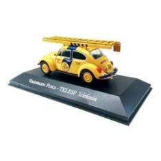 Imagem de Miniatura Volkswagen Fusca Telesp Telefonia Coleção Serviço