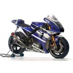 Imagem de Miniatura Moto Yamaha YZR M1 Factory Racing #1 - Jorge Lorenzo - MotoGP 2011 - 1:12 - New Ray