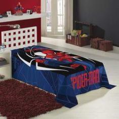 Imagem de Manta Fleece Spider Man Homem Aranha Lepper