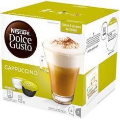 Imagem de Cápsula Dolce Gusto Nescafé com 10 Unidades de 12.5g Cappuccino