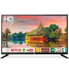 "Smart TV LED 32"" HQ HQSTV32NP 2 HDMI USB"