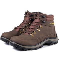 Imagem de Bota Adventure West Boots Cano Medio Chocolate
