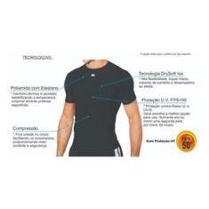 Imagem de Camisa Segunda Pele Térmica Manga Curta Alta Compressão Kanxa