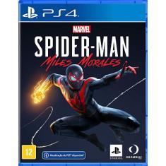 Pré-venda Jogo Marvel's Spider-Man: Miles Morales PS4 Insomniac