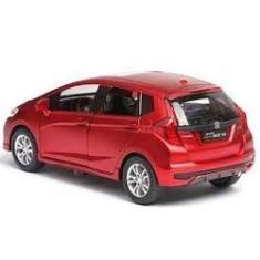 Imagem de Miniatura Carro Honda Fit 1:32 Abre 4 Portas Luz