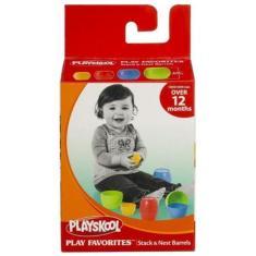 Imagem de Brinquedo Infantil Playskool Bloco De Encaixar Barril