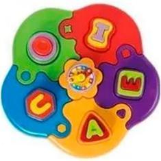 Imagem de Puzzle Mania Letras Encaixe Didático, Calesita 0811
