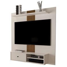 Imagem de Painel para TV até 55 Polegadas JB 5024 Perola com Caramelo