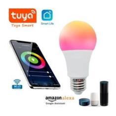 Imagem de Lâmpada Smart LED RGB TUYA WiFi 10W E27