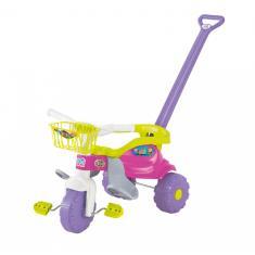 Imagem de Triciclo com Pedal Magic Toys Tico-Tico Festa 2561L